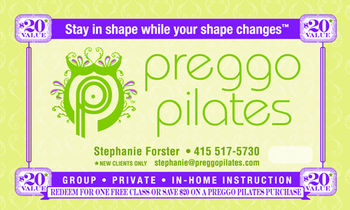 Preggo Pilates Coupon