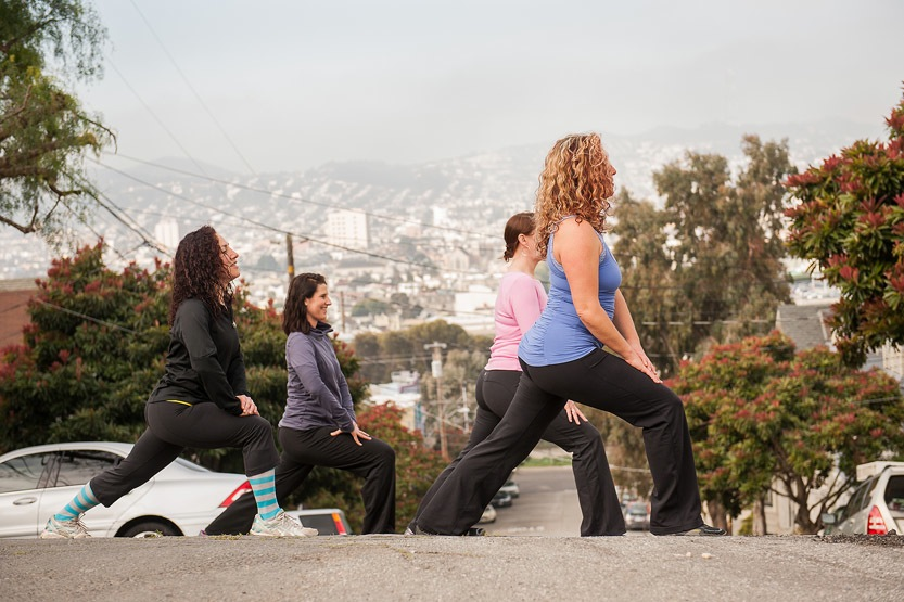 Lunges on the Hill